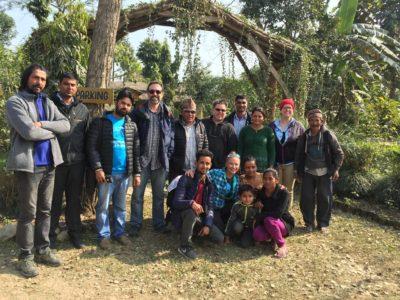 The Hidden Tiger documentary crew in Nepal